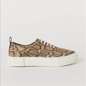 H&M eytys snakeskin sneakers